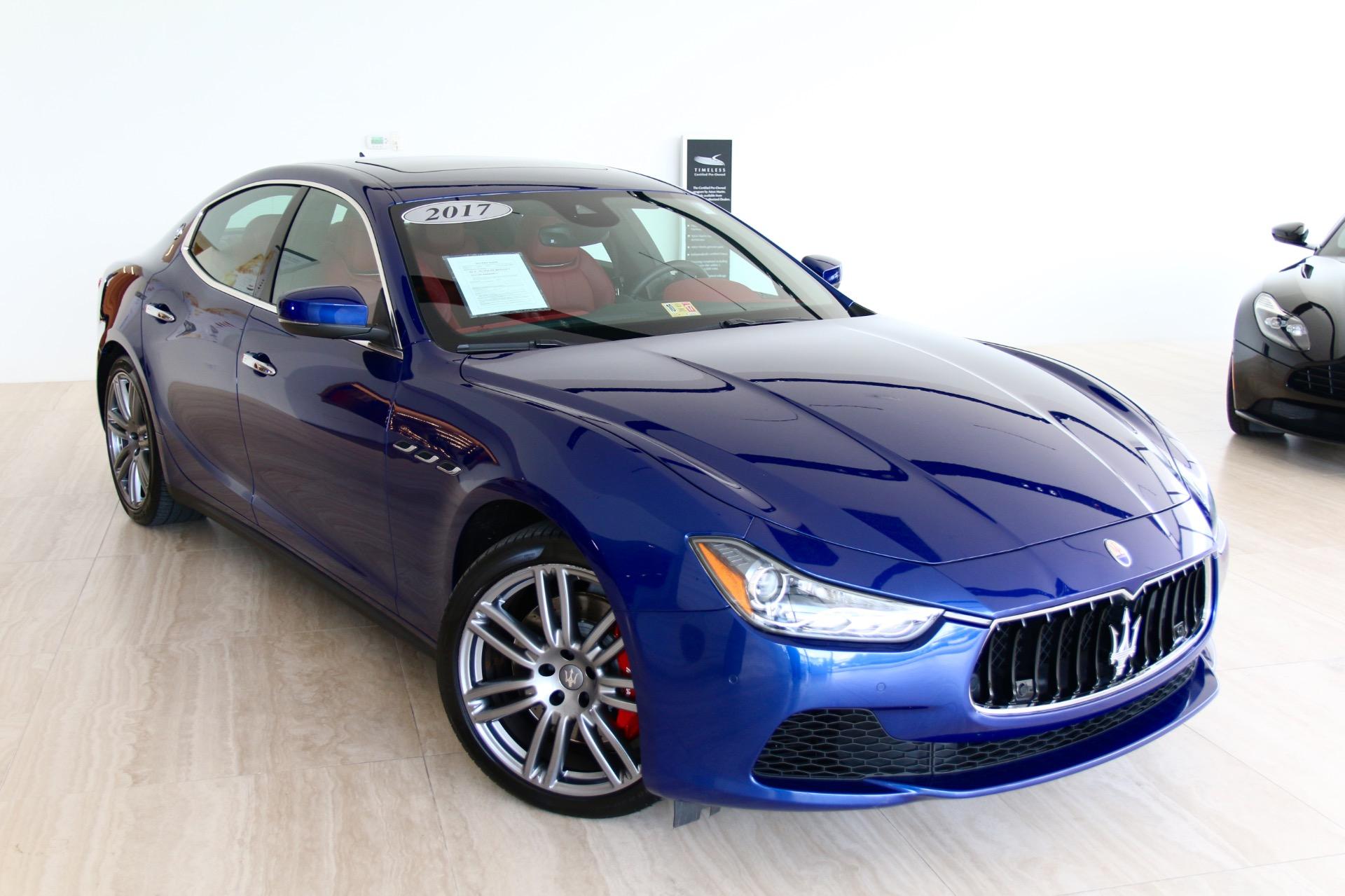 2017 Maserati Ghibli S Q4 Stock 7NC B for sale near Vienna
