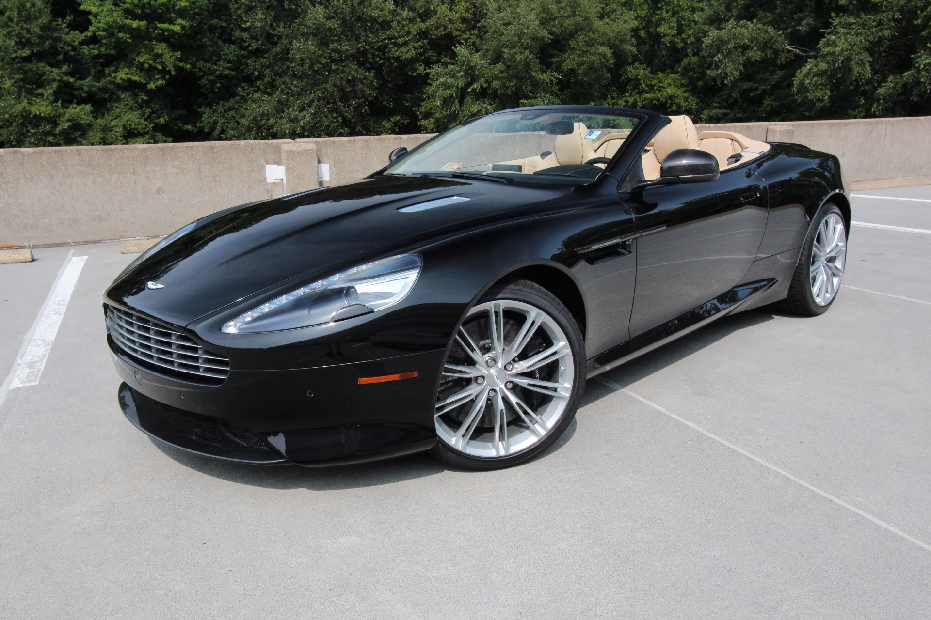 2015 aston martin db9 volante carbon edition stock 5nb16222 for sale. Black Bedroom Furniture Sets. Home Design Ideas