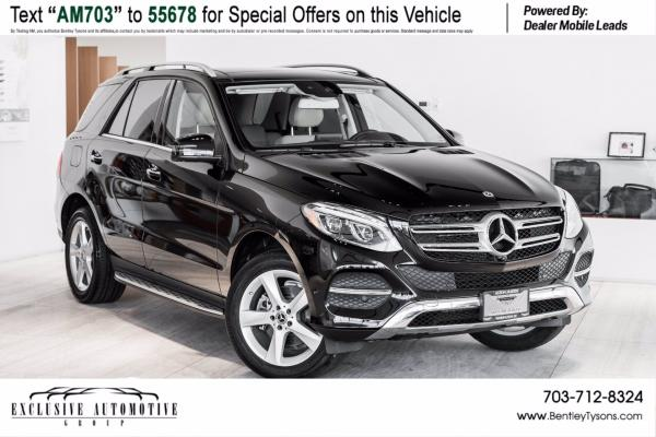 2018 Mercedes-Benz GLE