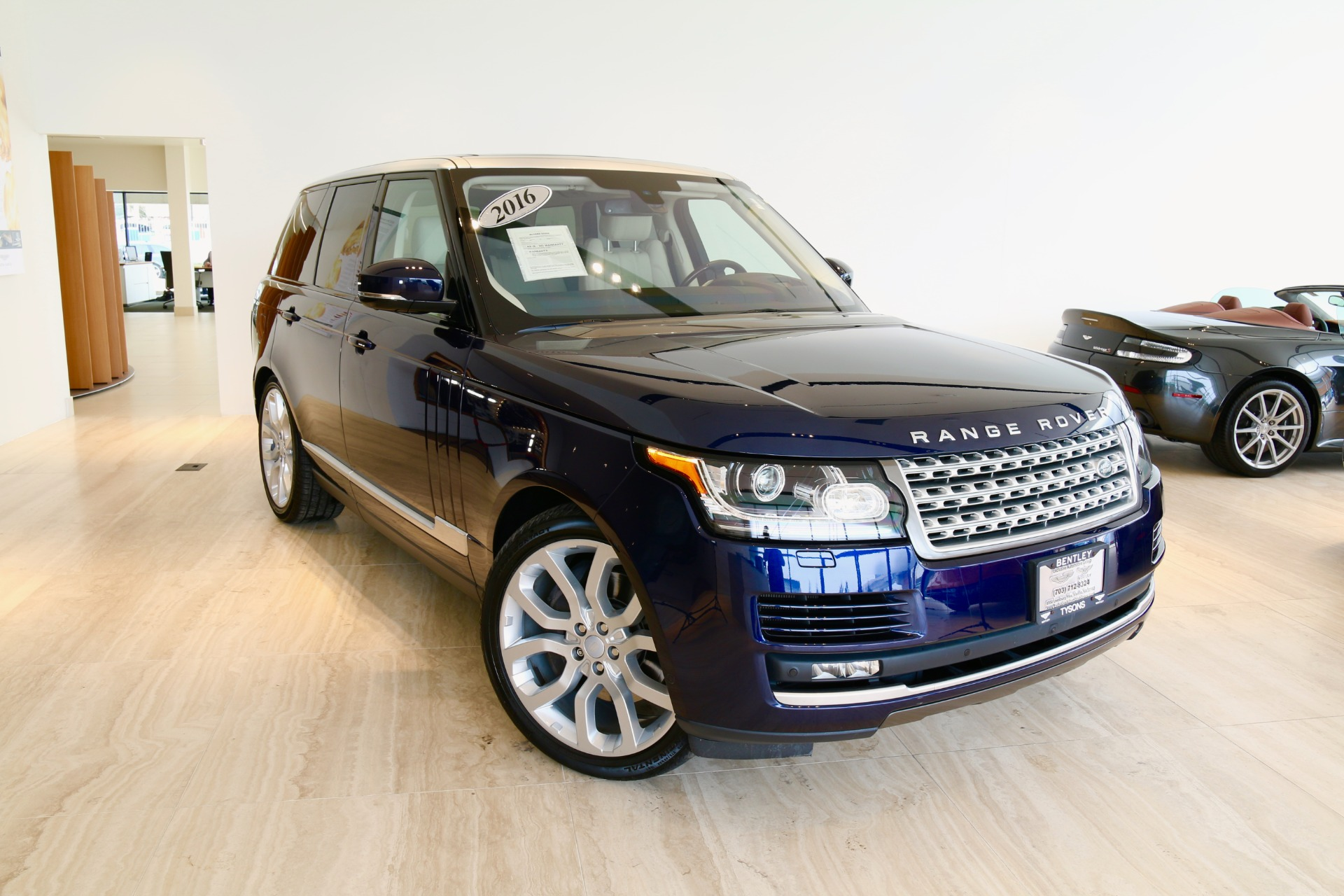 2016 Land Rover Range Rover Supercharged Stock 7NC B for sale