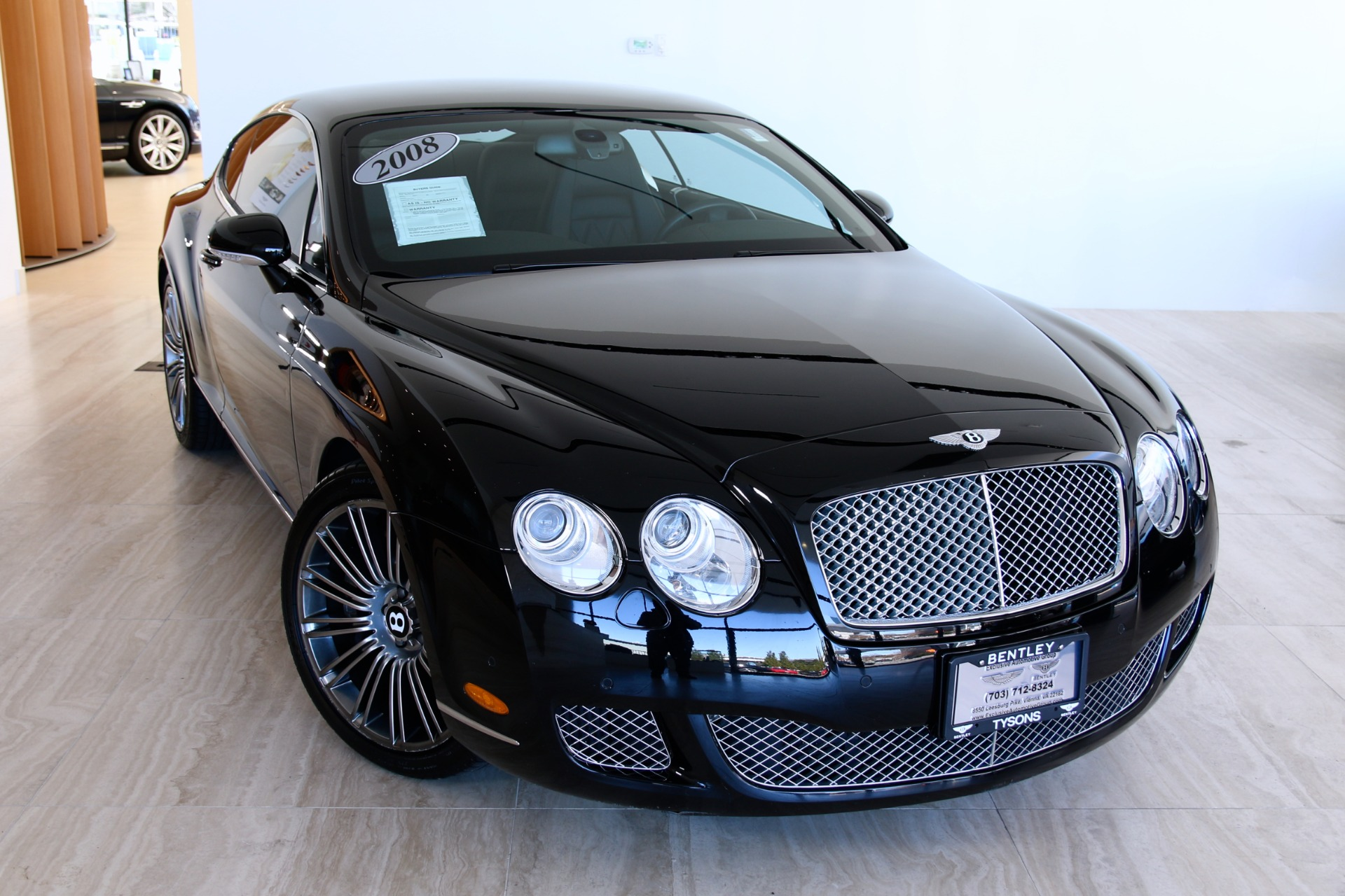 2008 bentley continental gt speed stock 6nc057207b for sale near used 2008 bentley continental gt speed vienna va vanachro Gallery