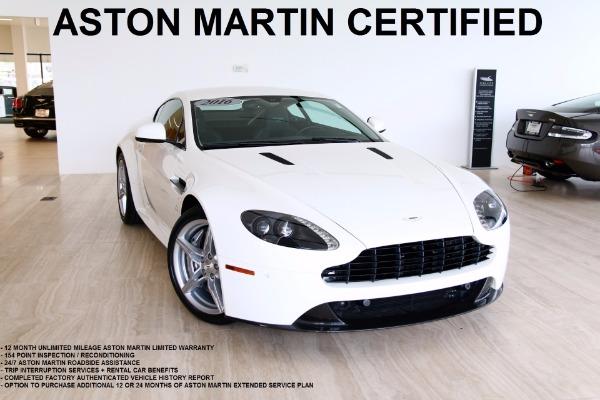Used 2016 Aston Martin Vantage-Vienna, VA