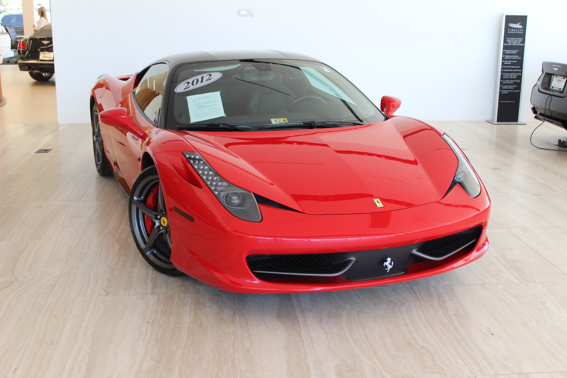 2012 Ferrari 458 Italia Stock # 7NL01699A for sale near Vienna, VA