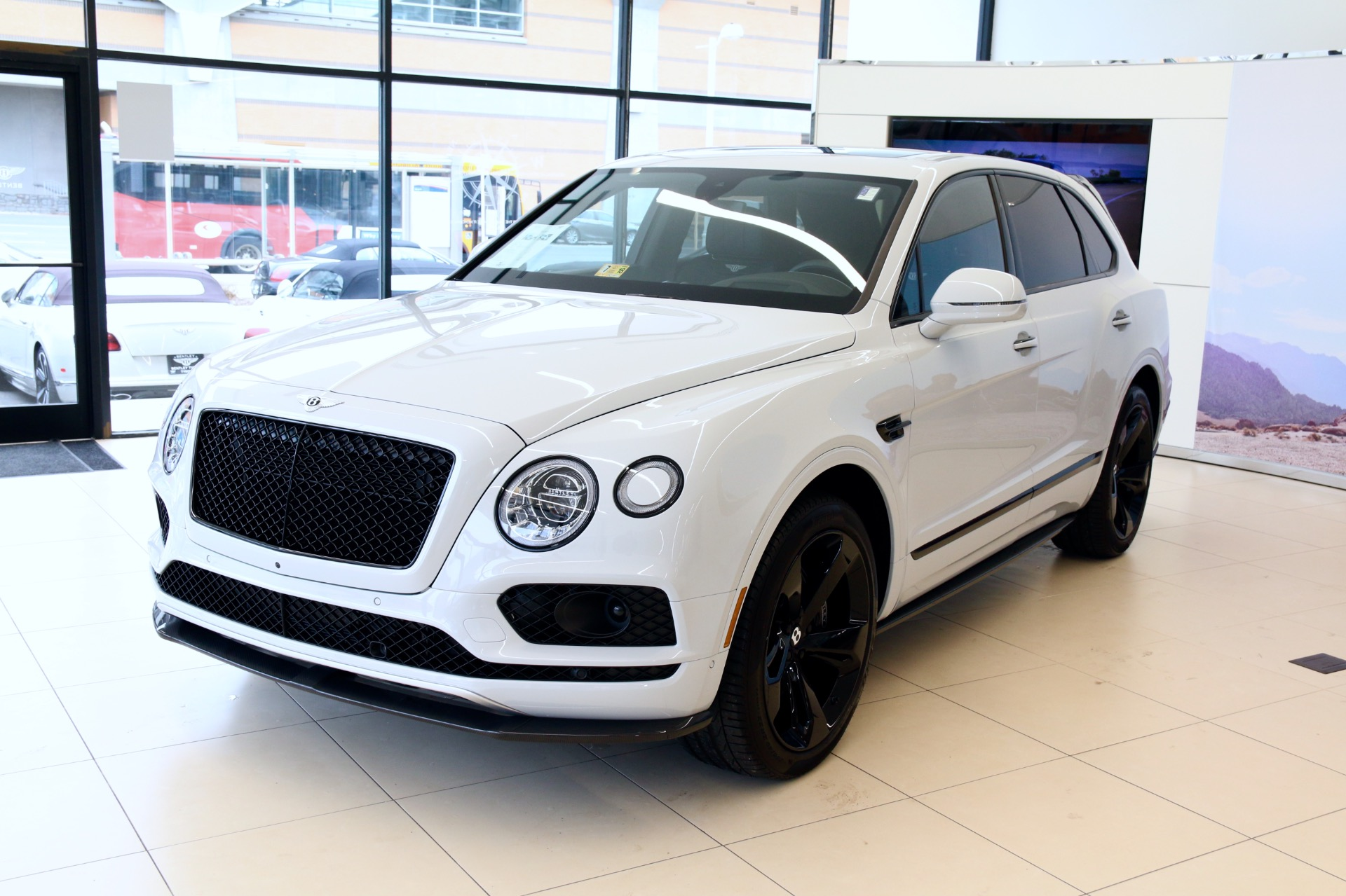 2018 bentley bentayga w12. contemporary bentayga new 2018 bentley bentayga w12 black edition  vienna va to bentley bentayga w12 1