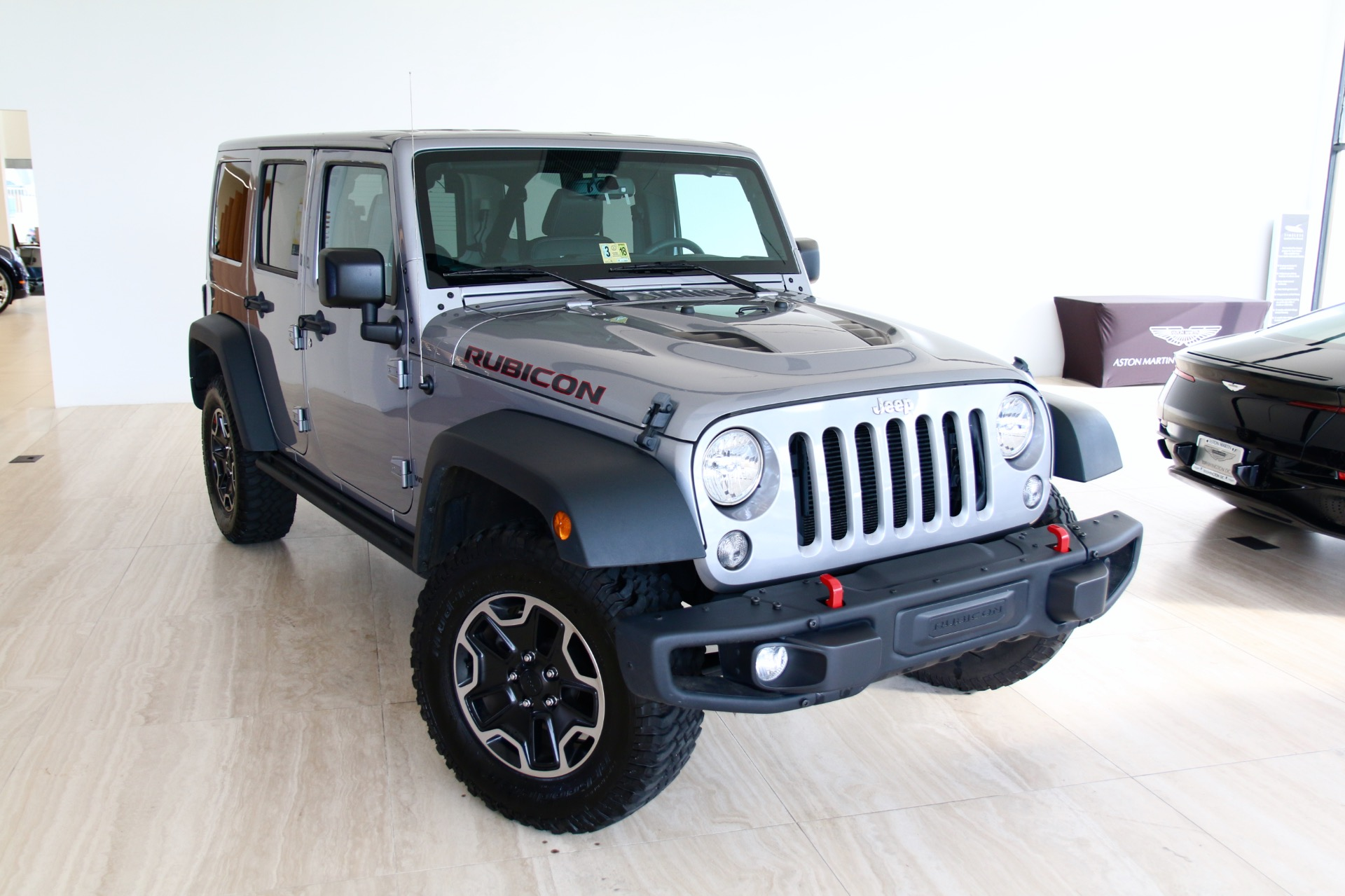2015 jeep wrangler unlimited rubicon hard rock stock # 7nl02917b