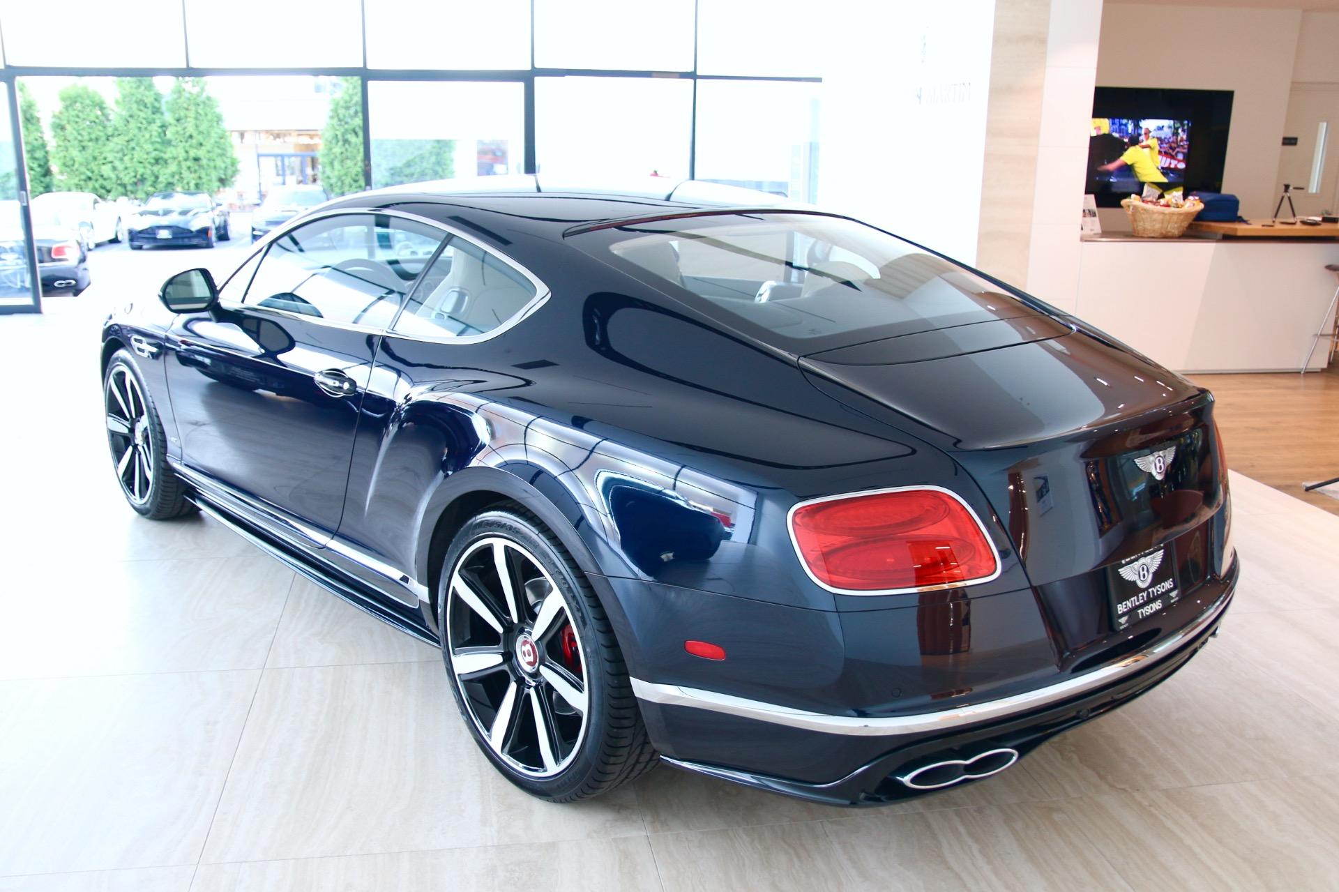 2017 Bentley Continental Gt V8 S Stock 7nc065271 For Sale Near Vienna Va Va Bentley Dealer