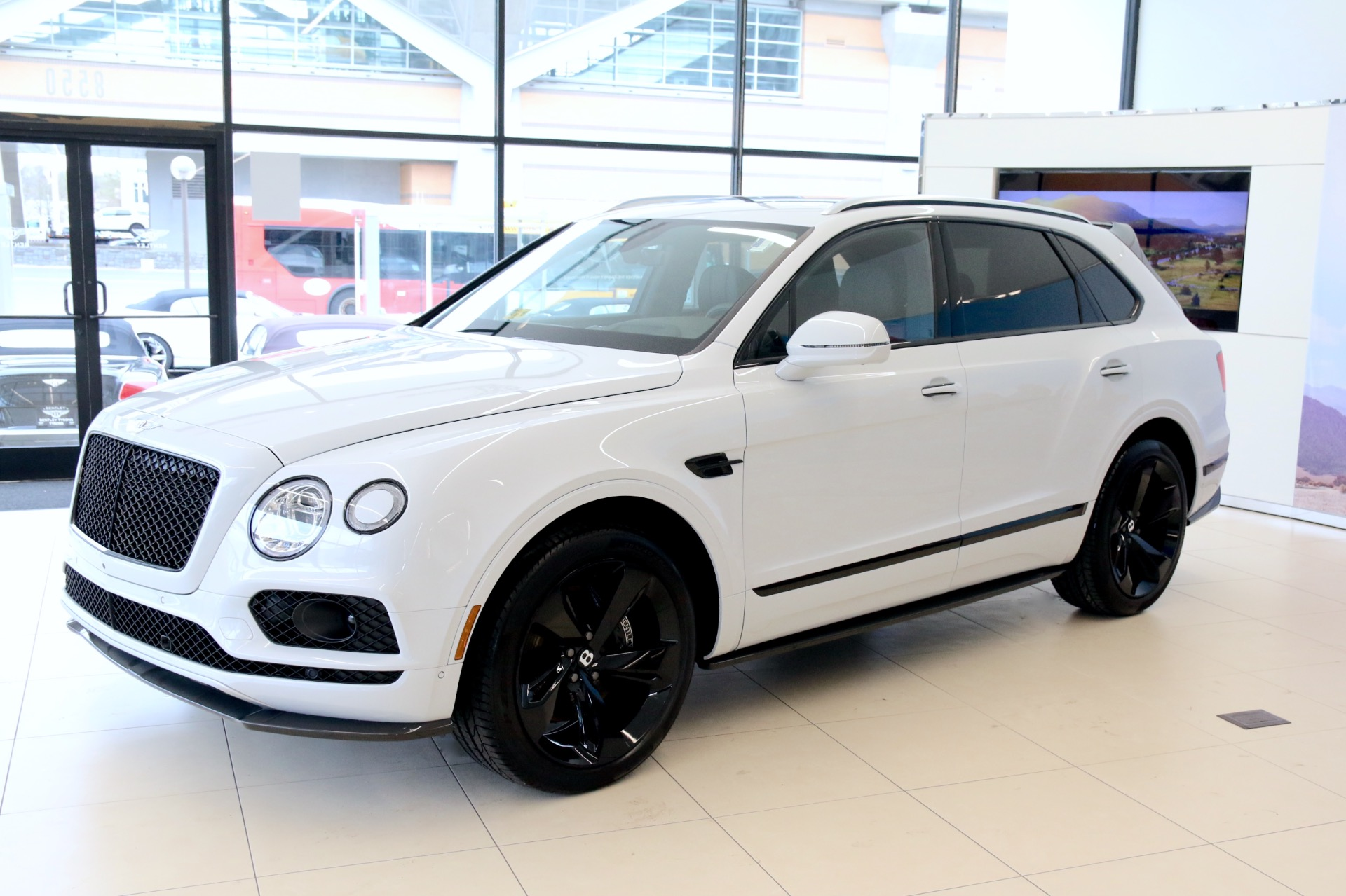 2018 Bentley Bentayga Black Edition Stock 8n021086 For