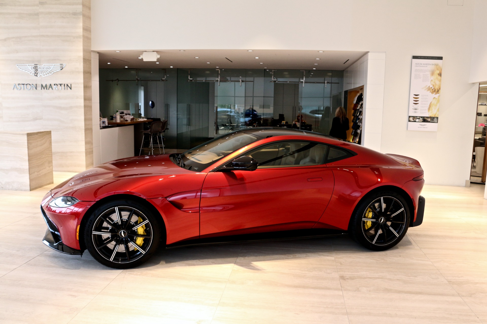 2019 aston martin vantage stock 9nn00128 for sale near vienna va va aston martin dealer. Black Bedroom Furniture Sets. Home Design Ideas