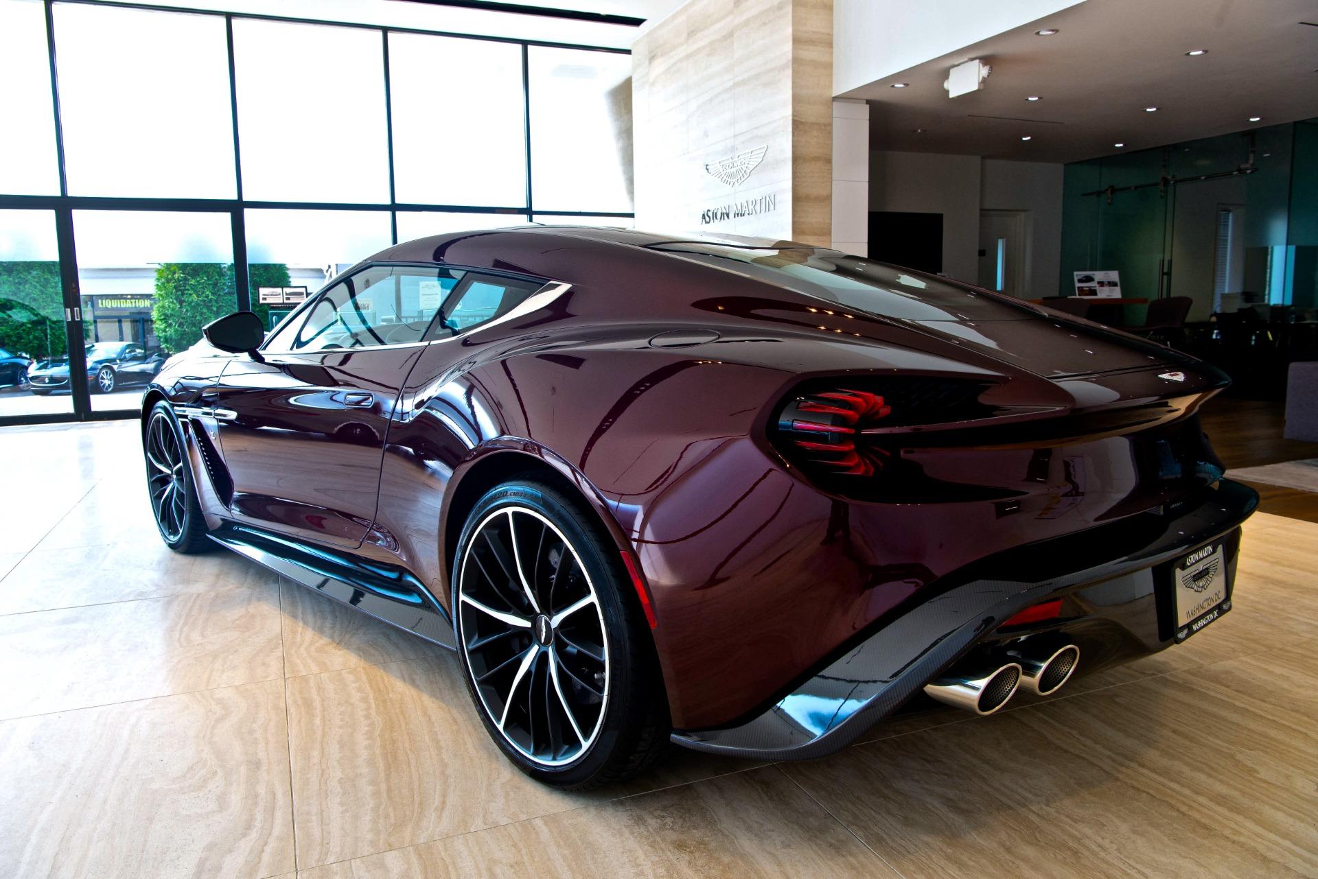 2018 Aston Martin Vanquish Zagato Coupe 72 99 Stock Pj33939 For Sale Near Vienna Va Va Aston Martin Dealer