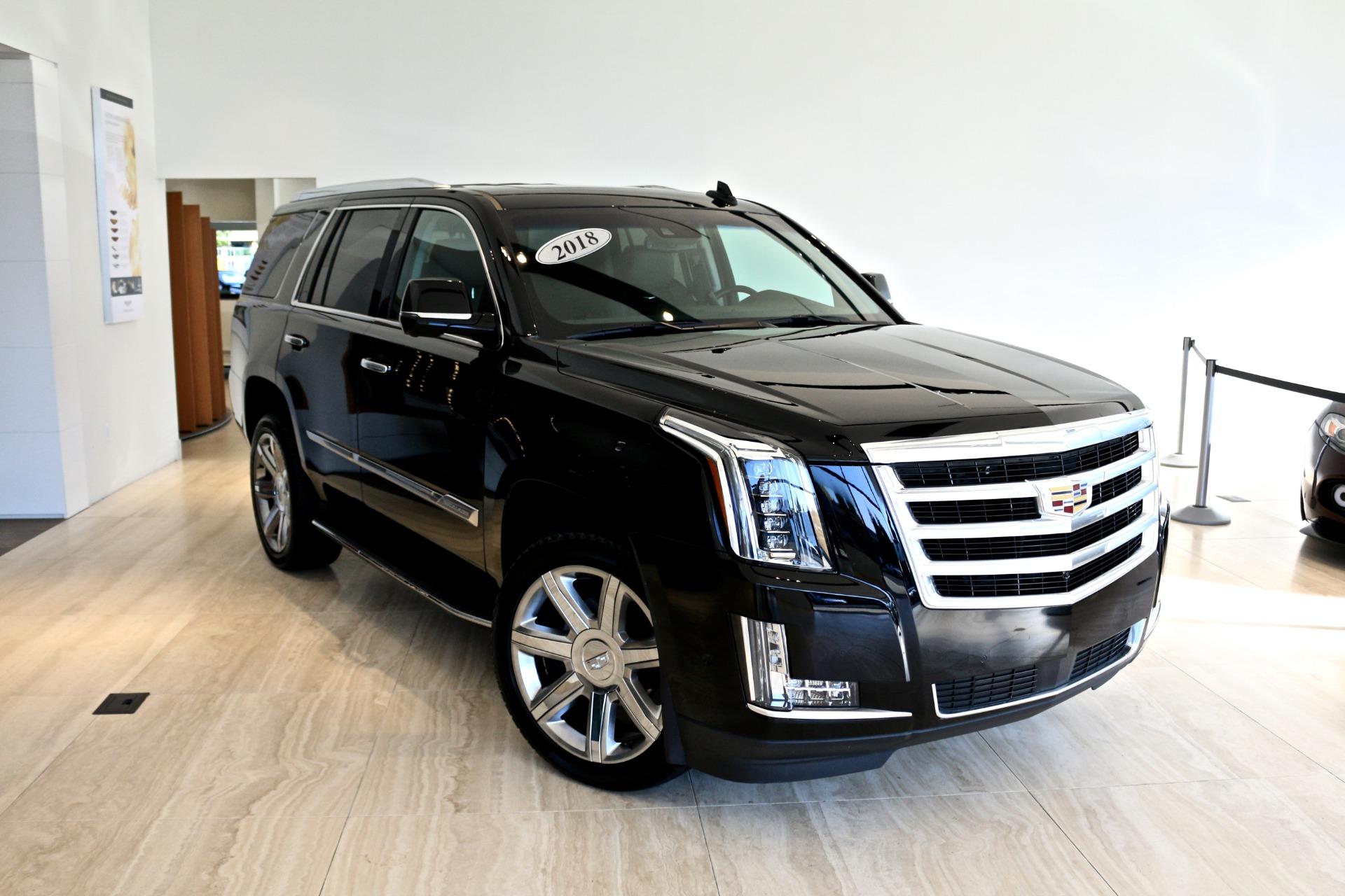 2018 Cadillac Escalade Premium Luxury Stock # P105065 for ...