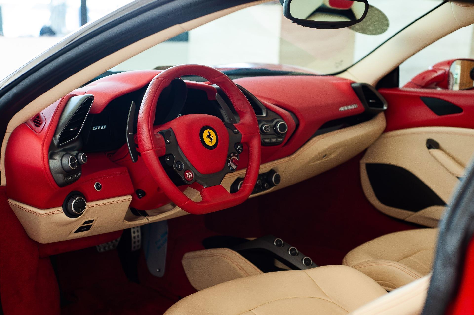 2016 Ferrari 488 Gtb Stock P0216690 For Sale Near Vienna Va Va Ferrari Dealer