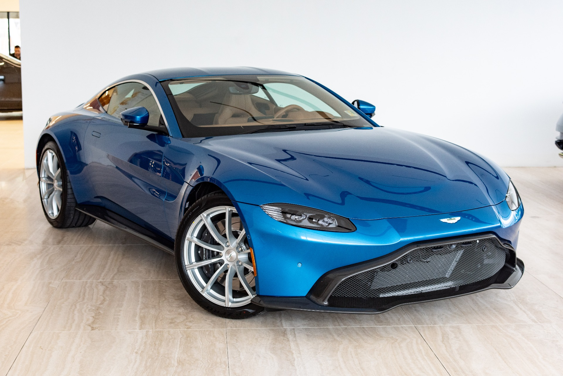 2019 Aston Martin Vantage Blue - Aston Martin Cars Review ...
