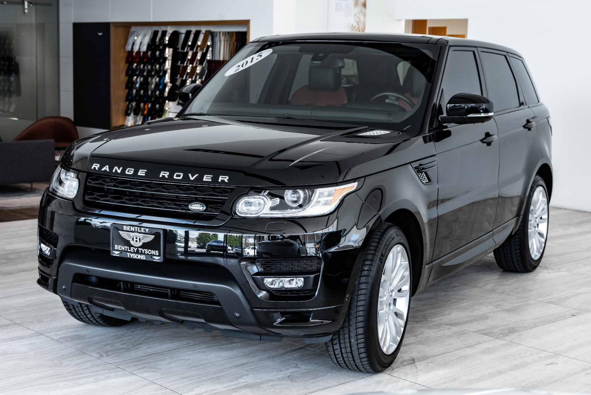 2015 Land Rover Range Rover Sport Autobiography Stock