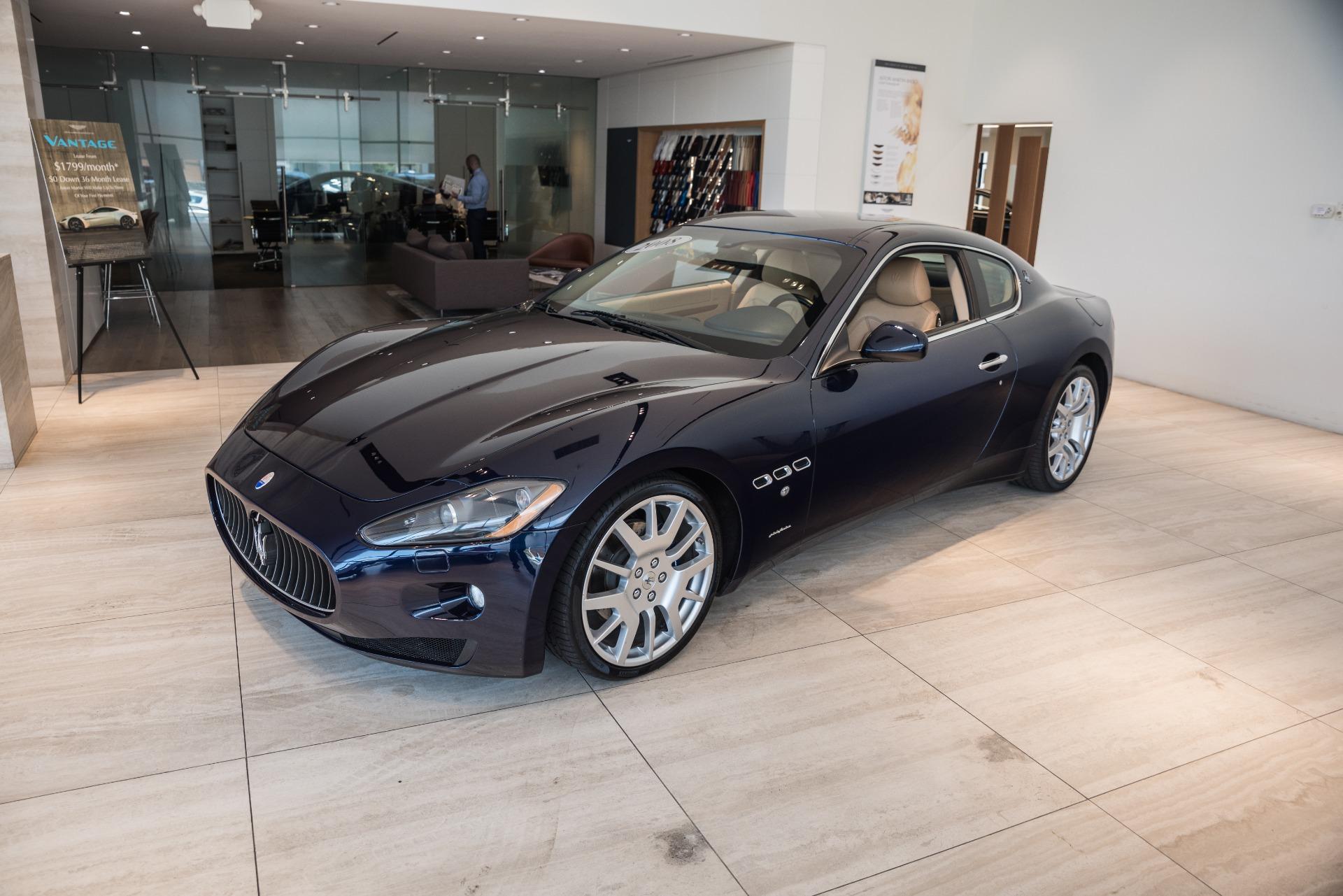 2008 Maserati GranTurismo Stock # P136296B for sale near Vienna, VA   VA Maserati Dealer