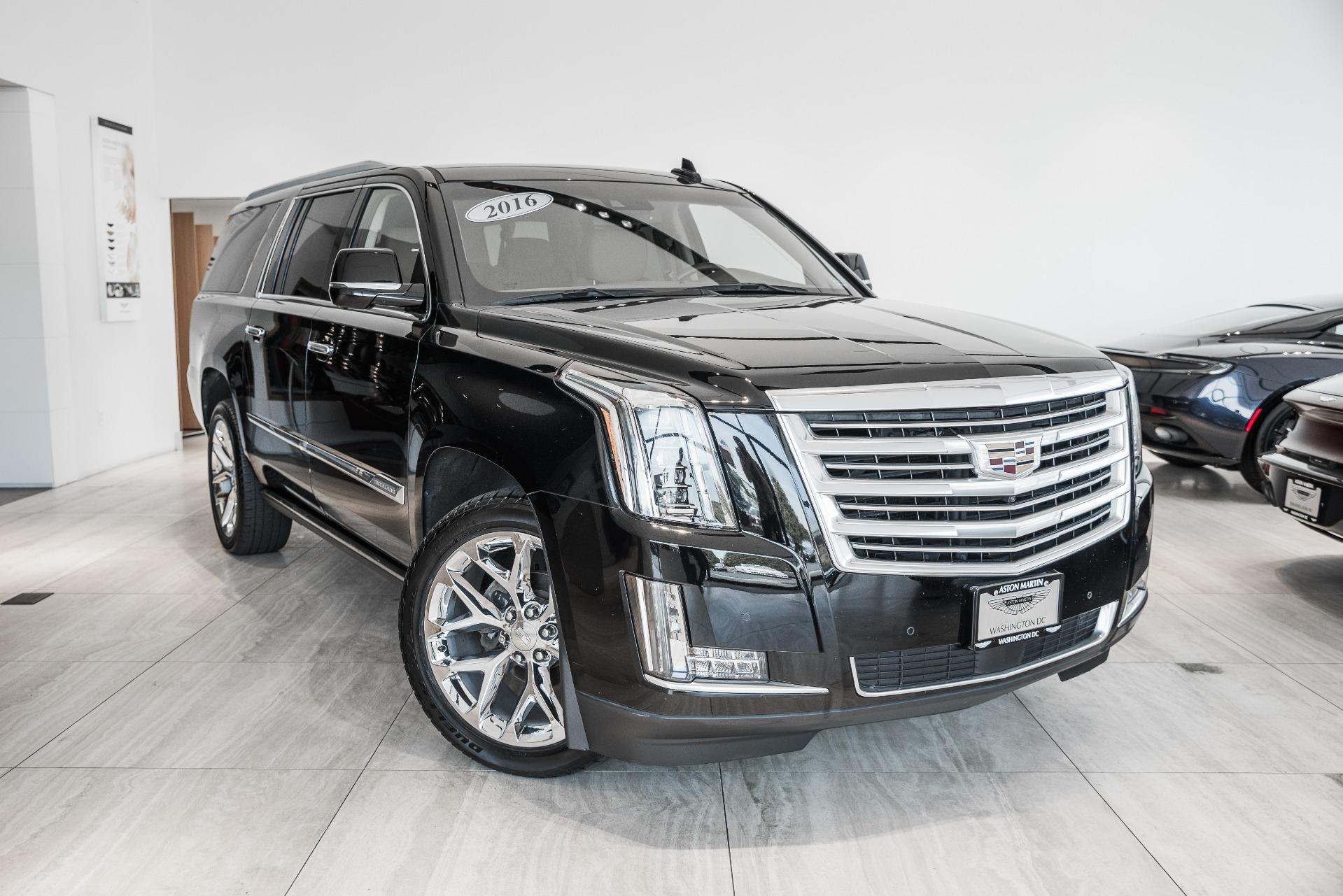 2016 Cadillac Escalade Esv Platinum Stock P016112b For Sale Near Vienna Va Va Cadillac Dealer