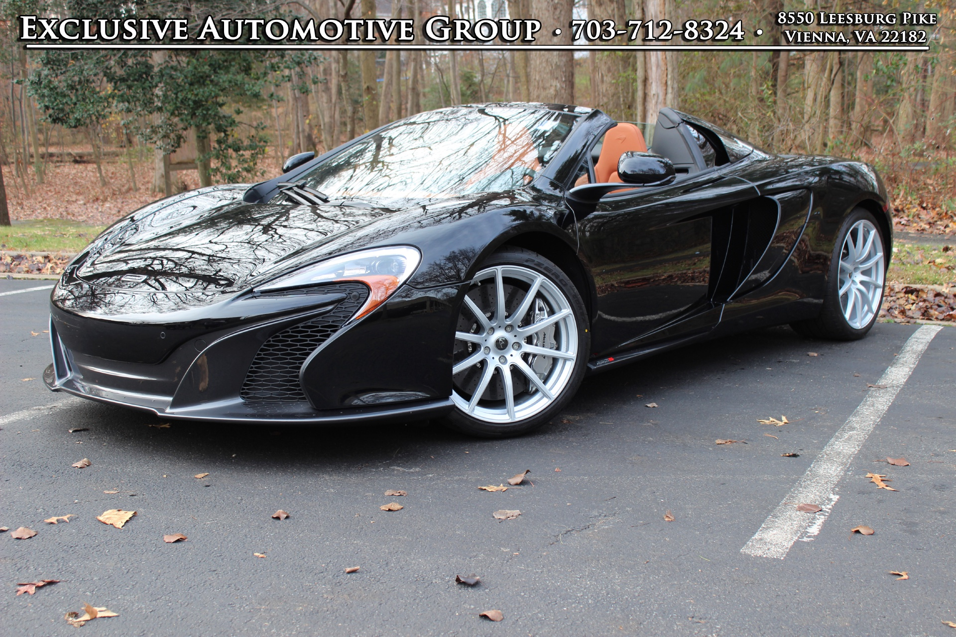 2015 mclaren 650s spider stock # 5w004389 for sale near vienna, va