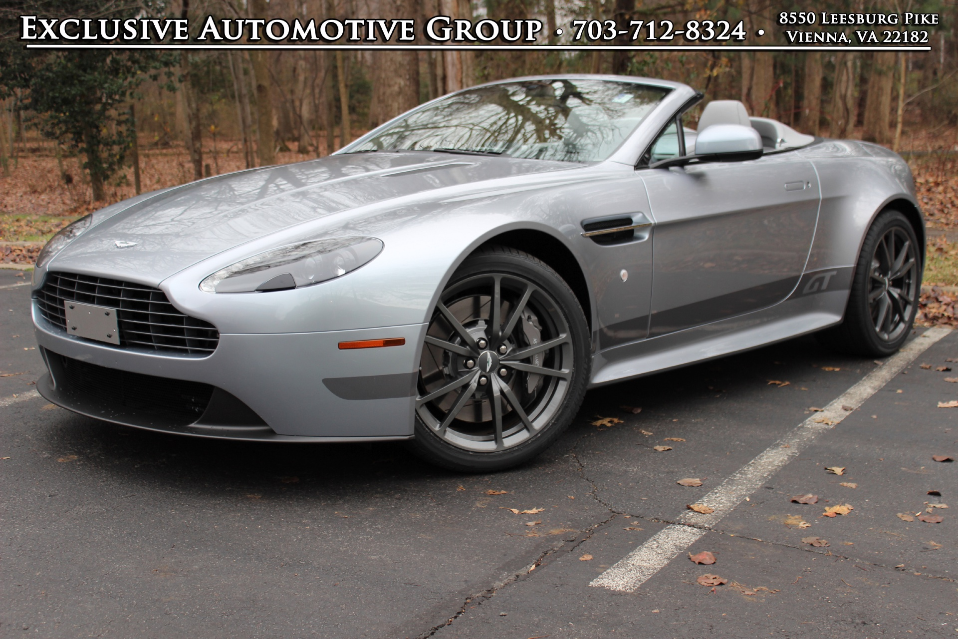 2015 Aston Martin V8 Vantage Gt Roadster Stock 5d19231 For Sale