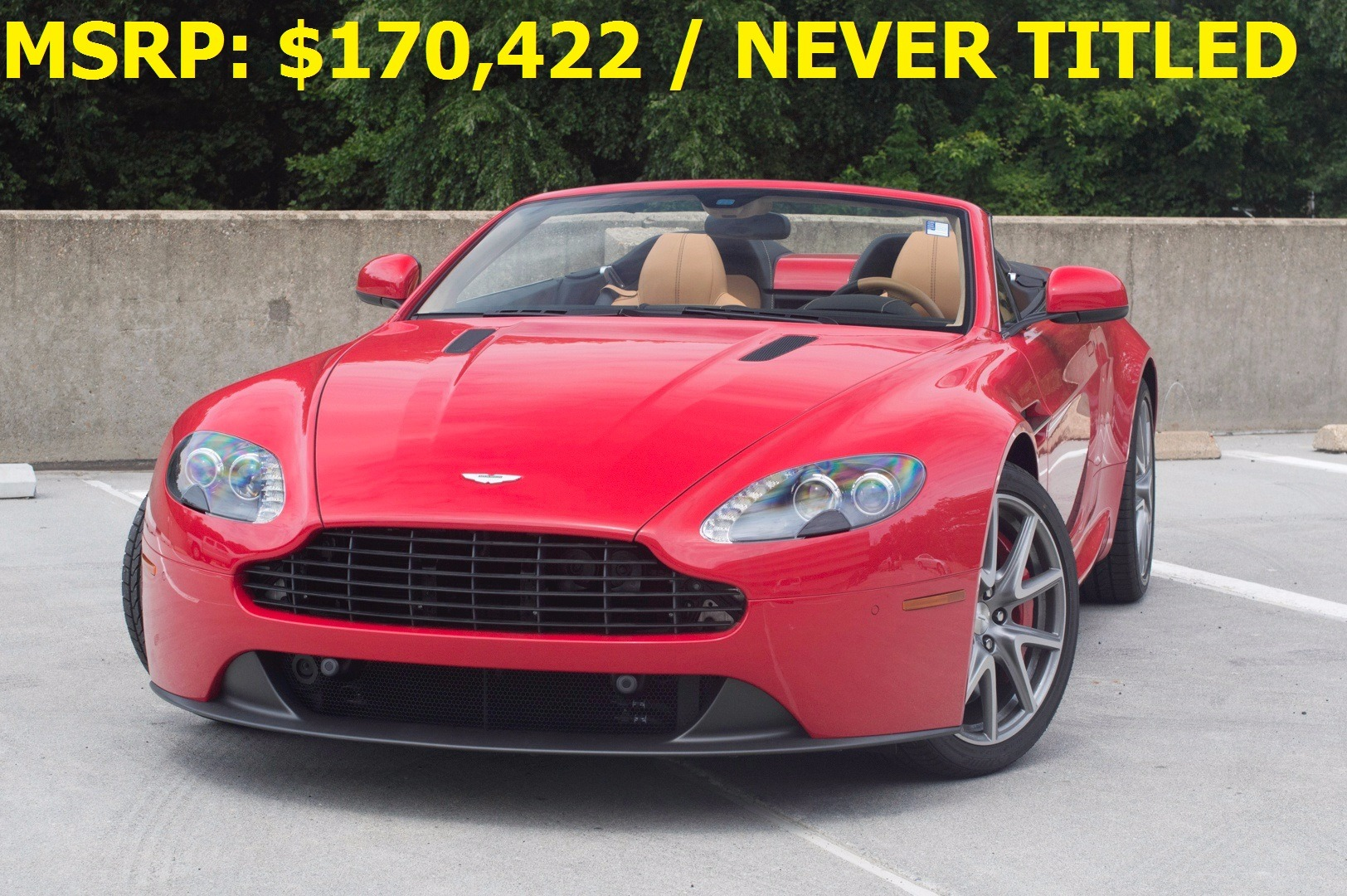 2014 Aston Martin V8 Vantage Roadster Roadster Stock 4nd18220 For Sale Near Vienna Va Va Aston Martin Dealer