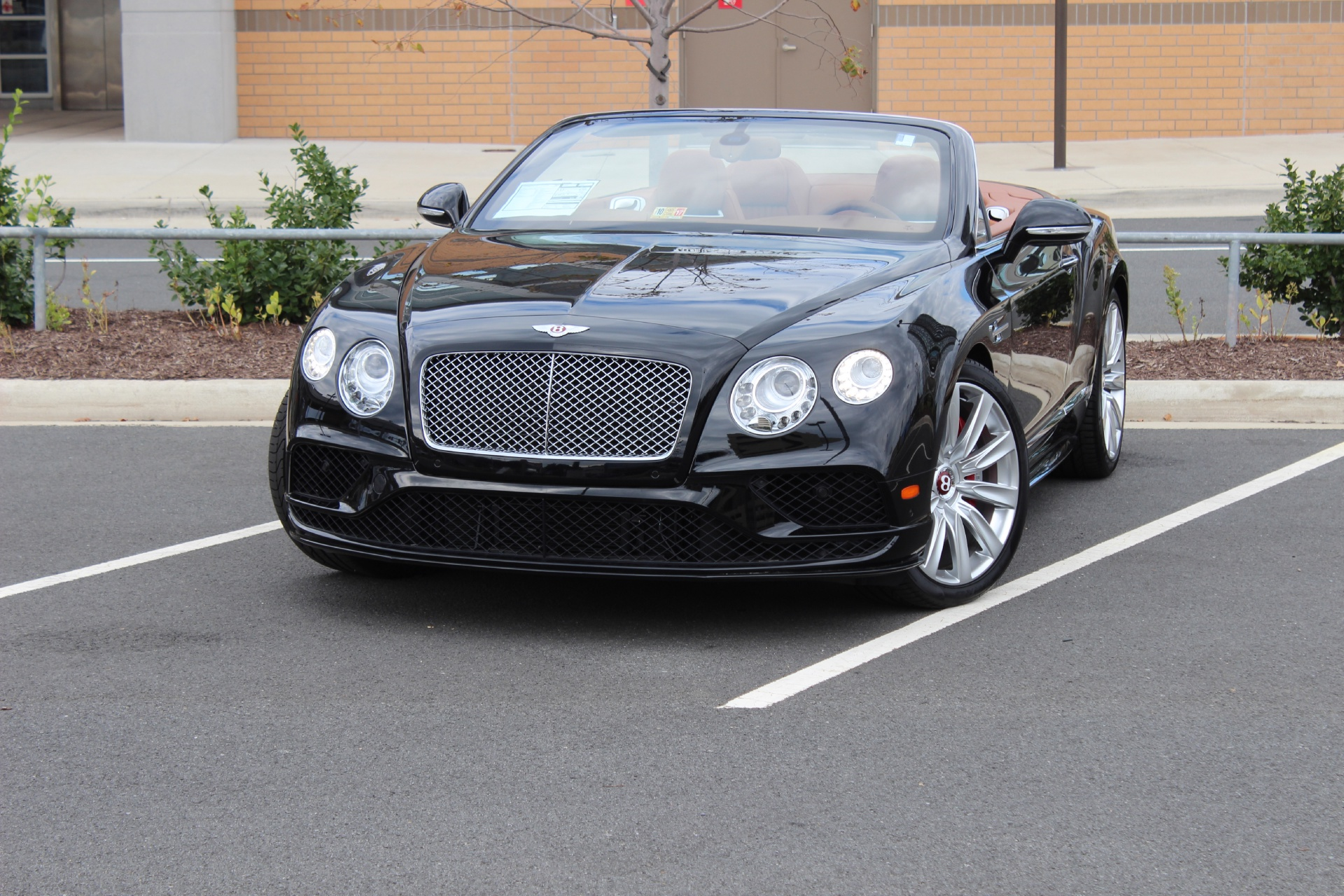 2016 Bentley Continental Gt V8 S Convertible Stock 6nc052262 For