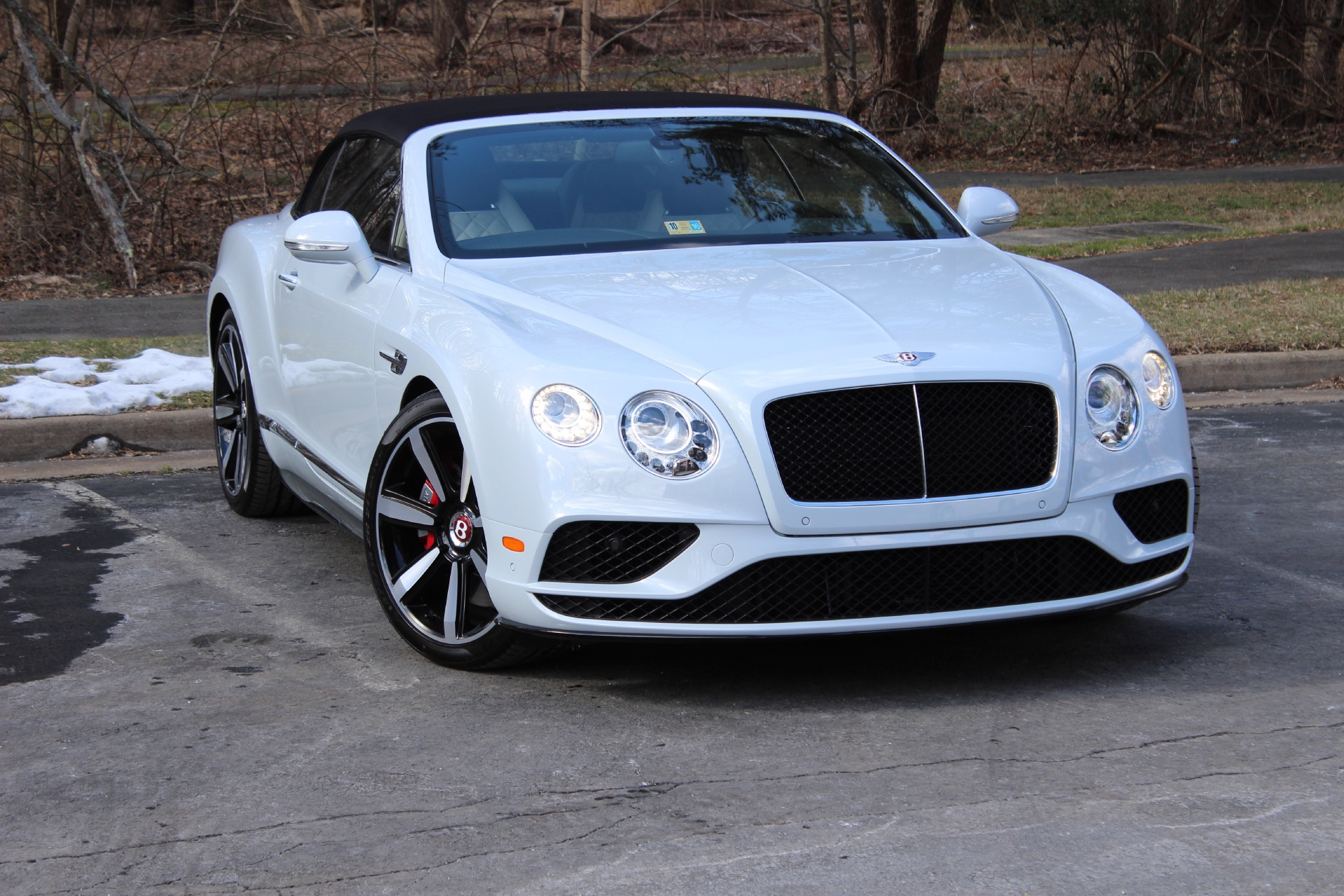 2016 Bentley Continental Gt V8 S Convertible Stock 6nc054673 For