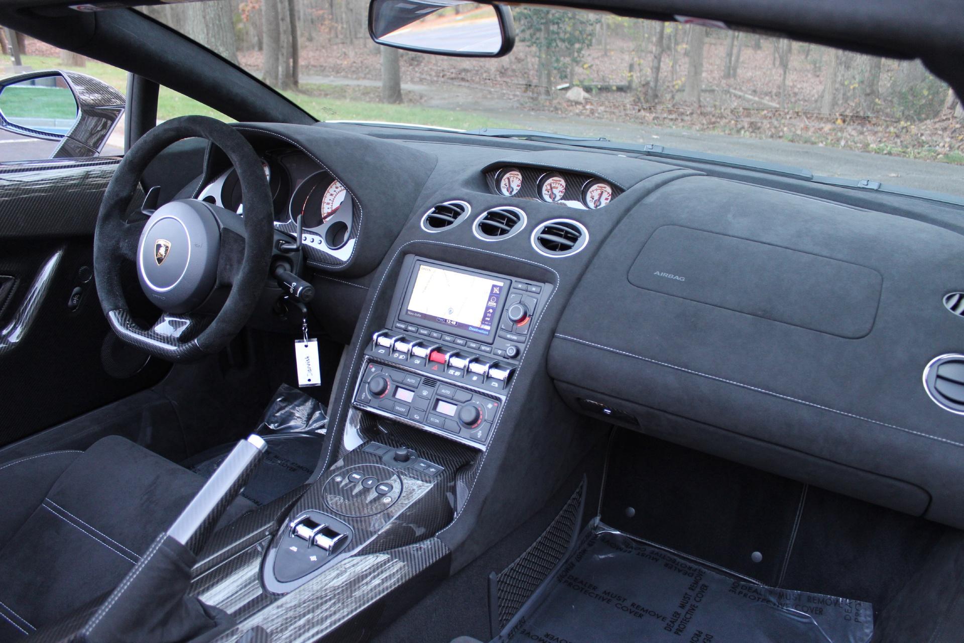 2012 Lamborghini Gallardo Lp 570 4 Spyder Performante Stock