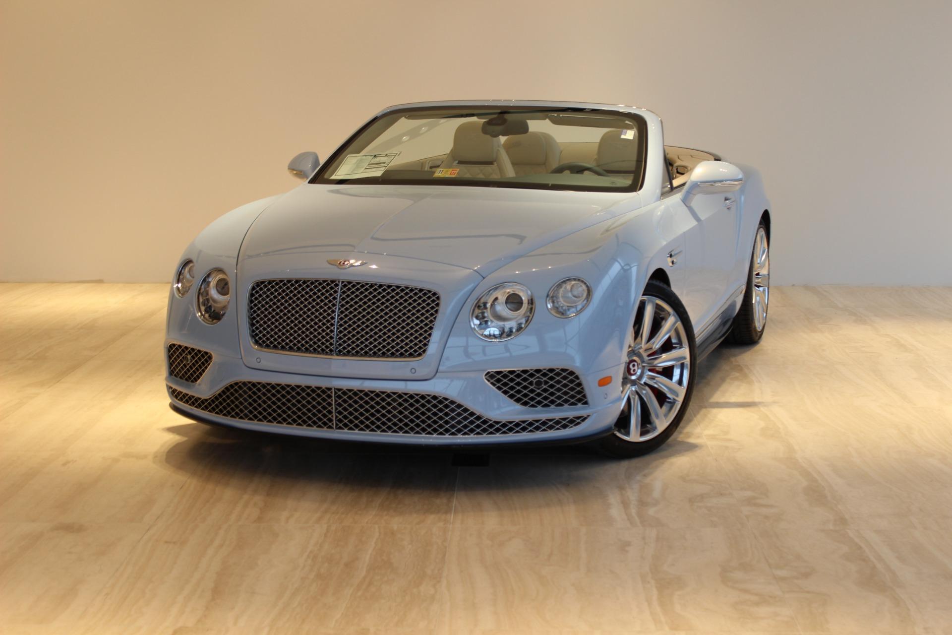 New 2017 Bentley Continental Gtc V8 S Vienna