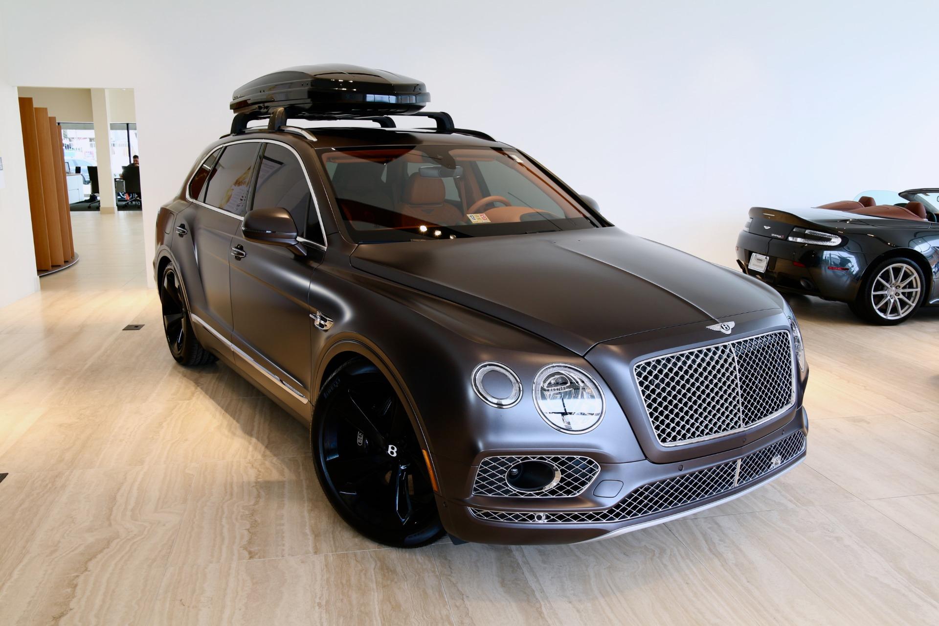 2017 Bentley Bentayga W12 Signature Stock 7nc015656 For Sale Near Vienna Va Va Bentley Dealer