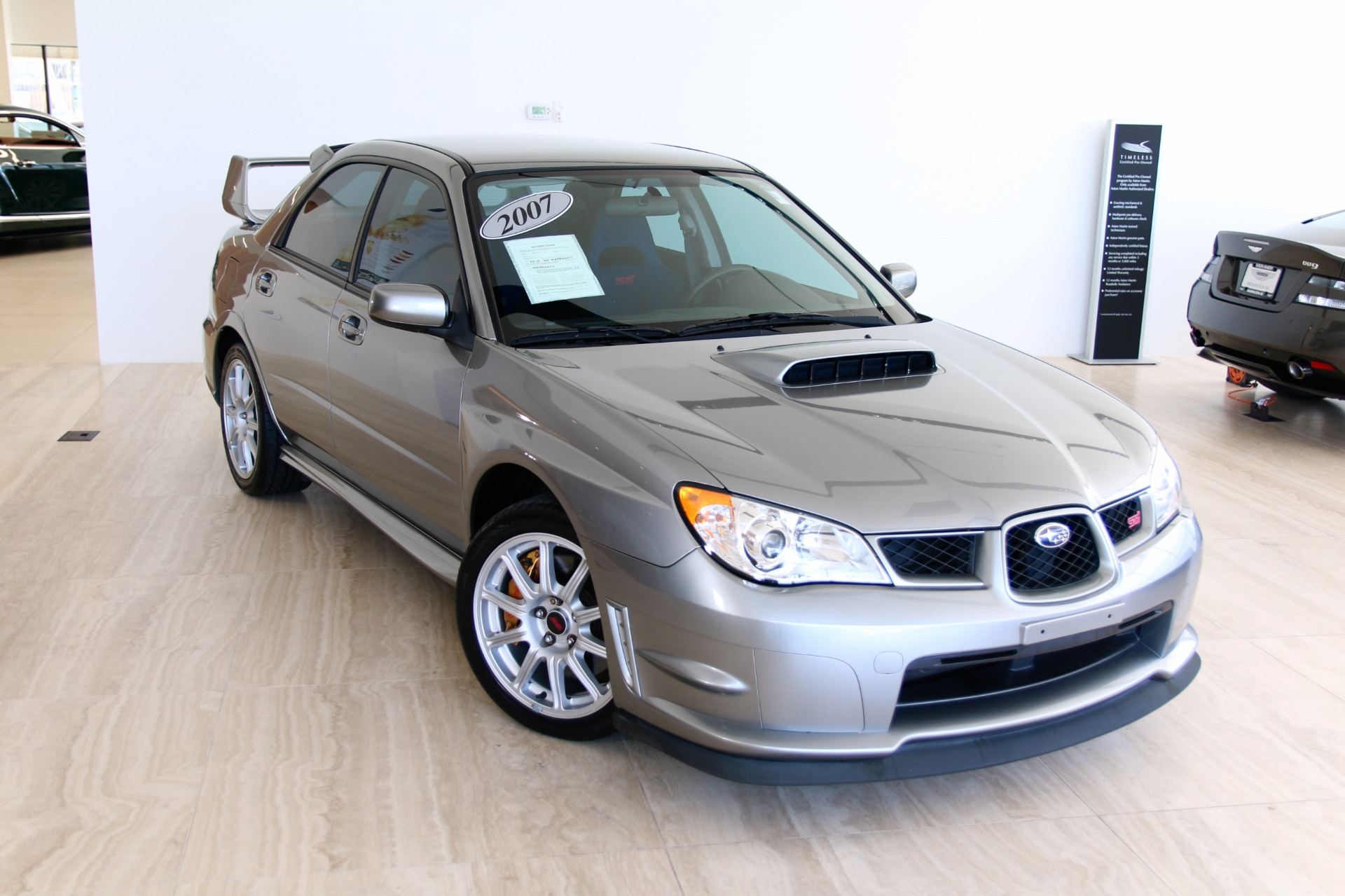 2007 Subaru Wrx Sti >> 2007 Subaru Impreza Wrx Sti Stock 7nc016052e For Sale Near