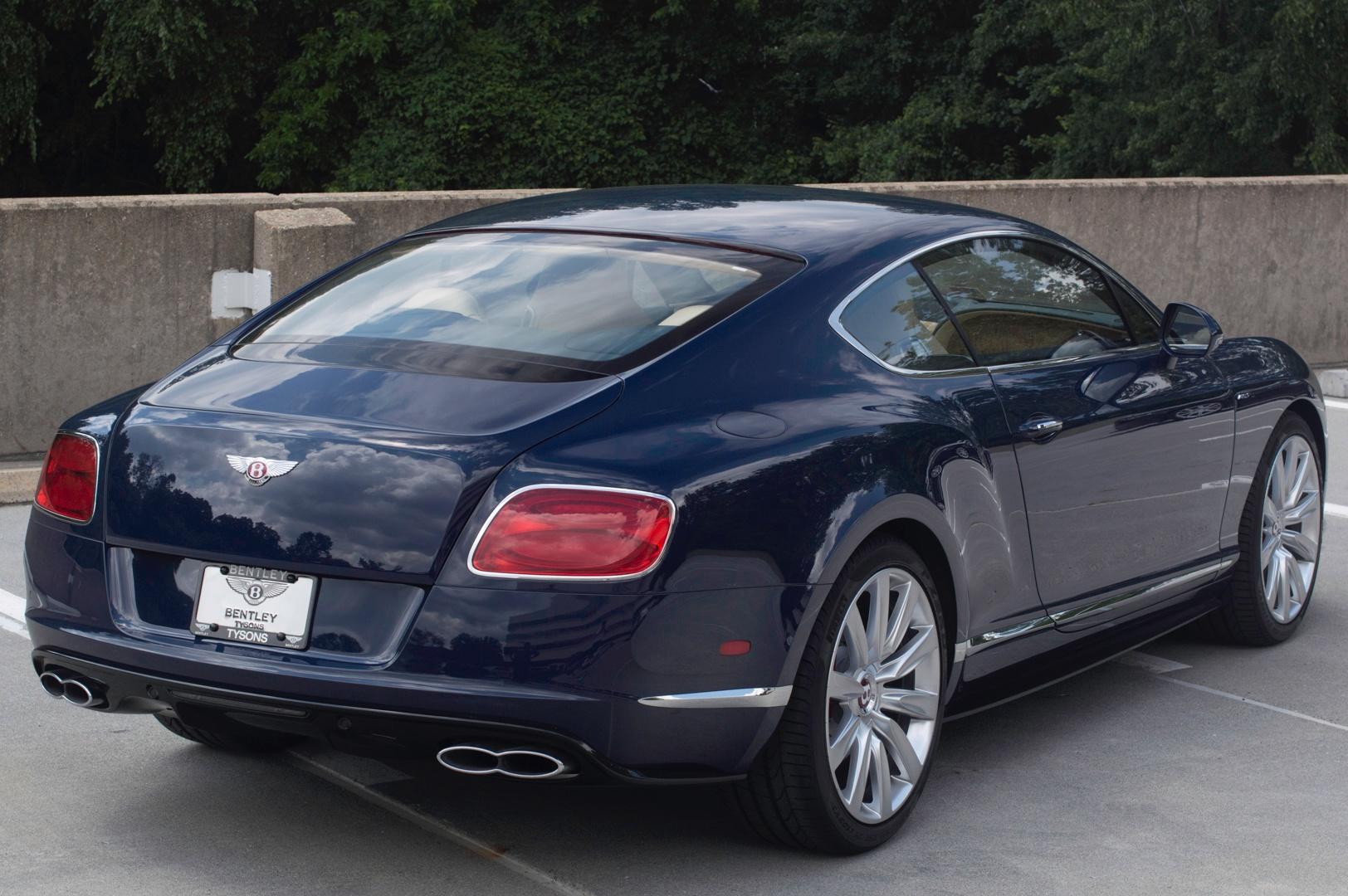 2014 Bentley Continental Gt V8 S Stock 4nc096190 For Sale Near Vienna Va Va Bentley Dealer