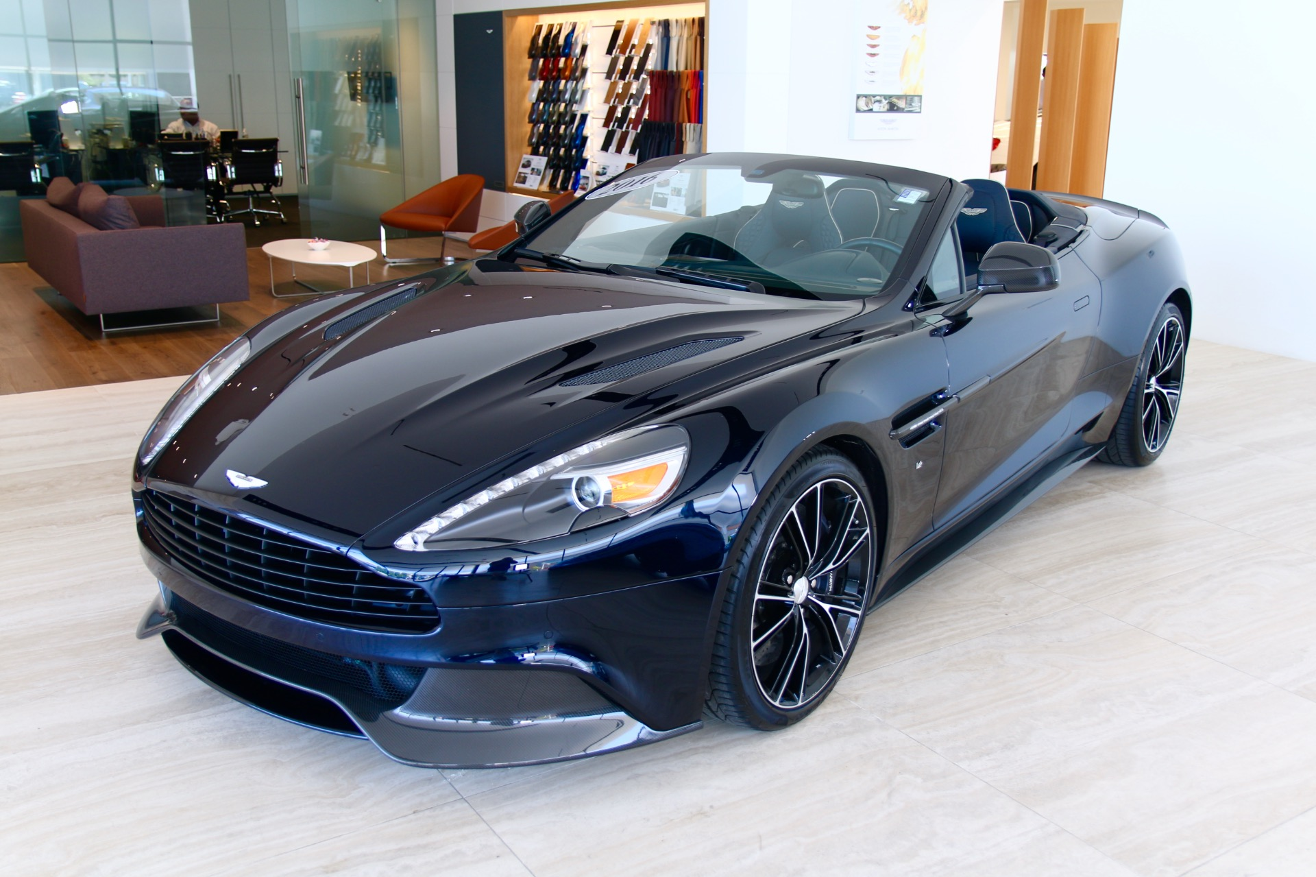 2016 Aston Martin Vanquish Volante Stock Po3168 For Sale Near Vienna Va Va Aston Martin Dealer