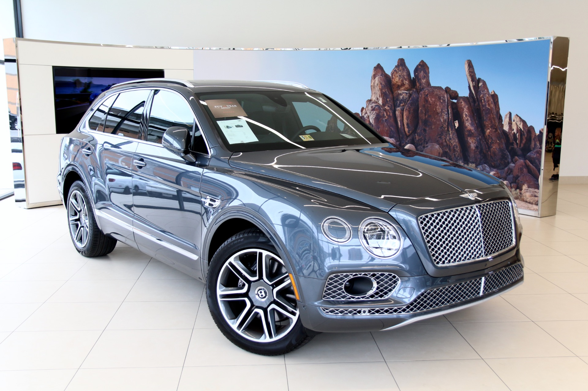 Bentley Bentayga For Sale >> 2018 Bentley Bentayga W12 Activity Stock 8nc017796 For