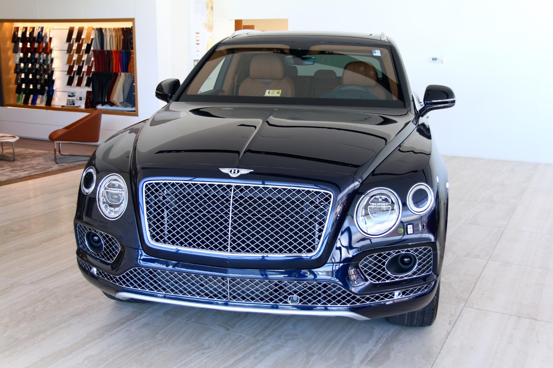 2018 Bentley Bentayga W12 Signature Stock 8n017210 For Sale Near Vienna Va Va Bentley Dealer