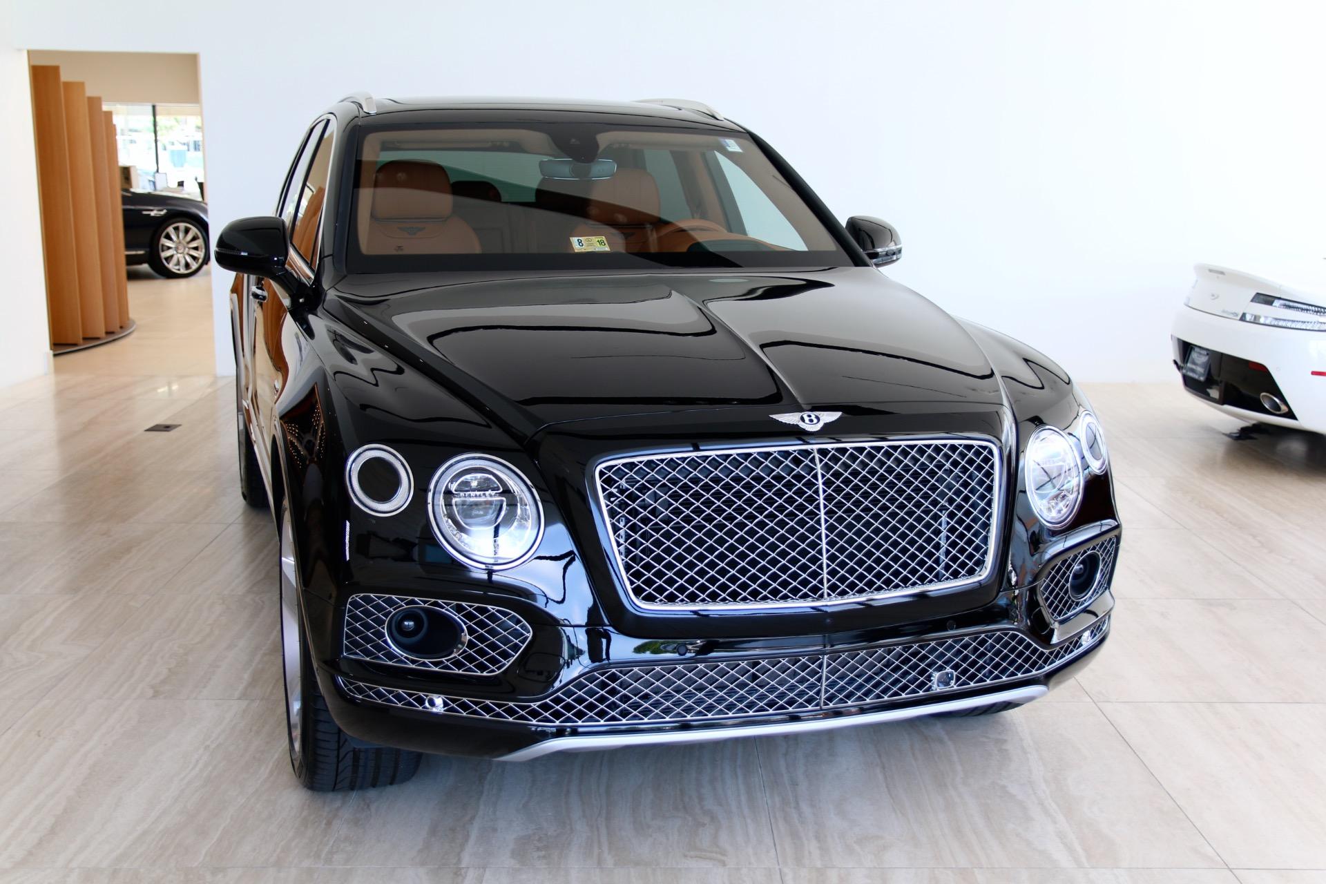 2018 Bentley Bentayga W12 Onyx Stock 8n018126 For Sale Near Vienna Va Va Bentley Dealer
