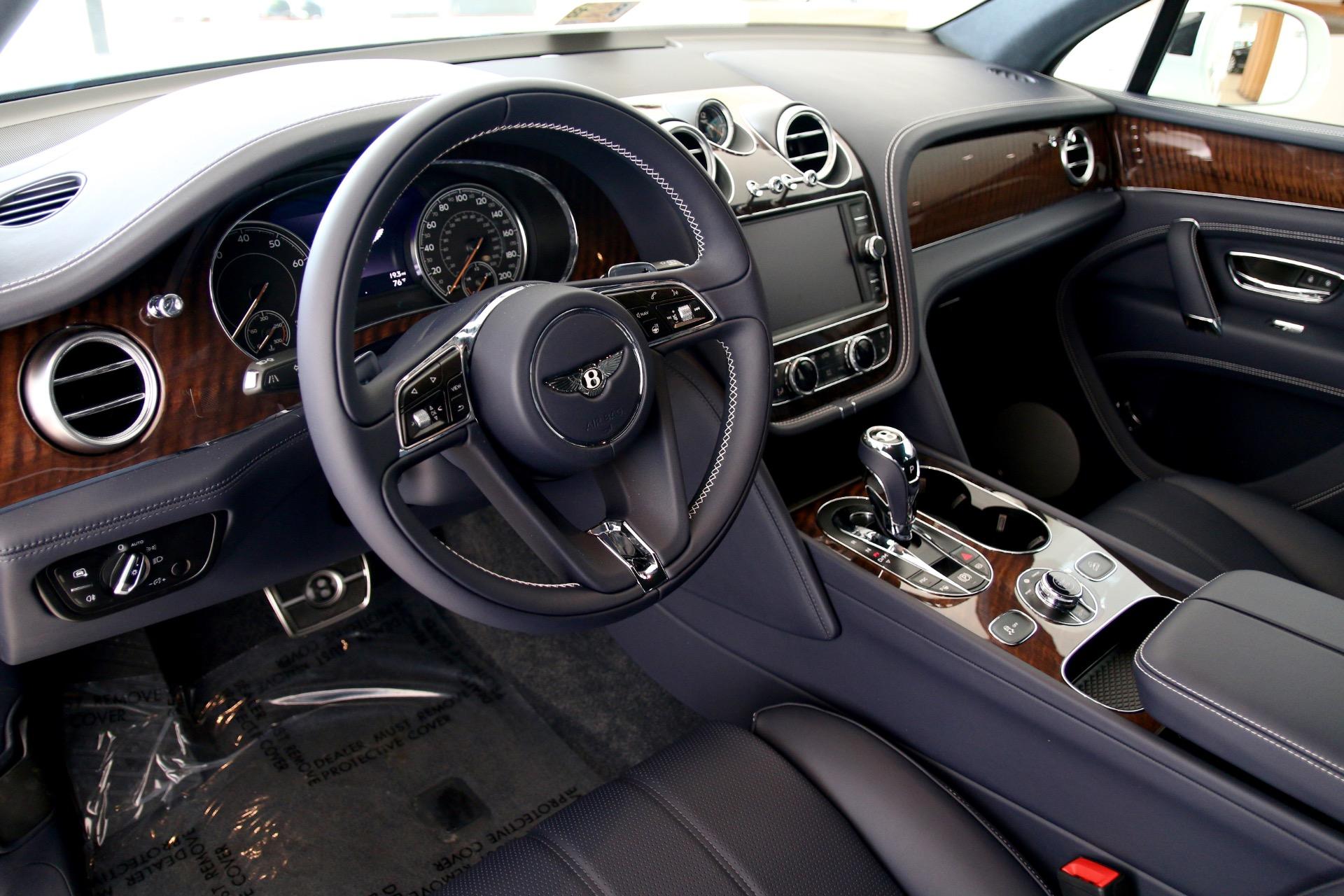 2018 Bentley Bentayga W12 Onyx Stock 8n017807 For Sale Near Vienna Va Va Bentley Dealer