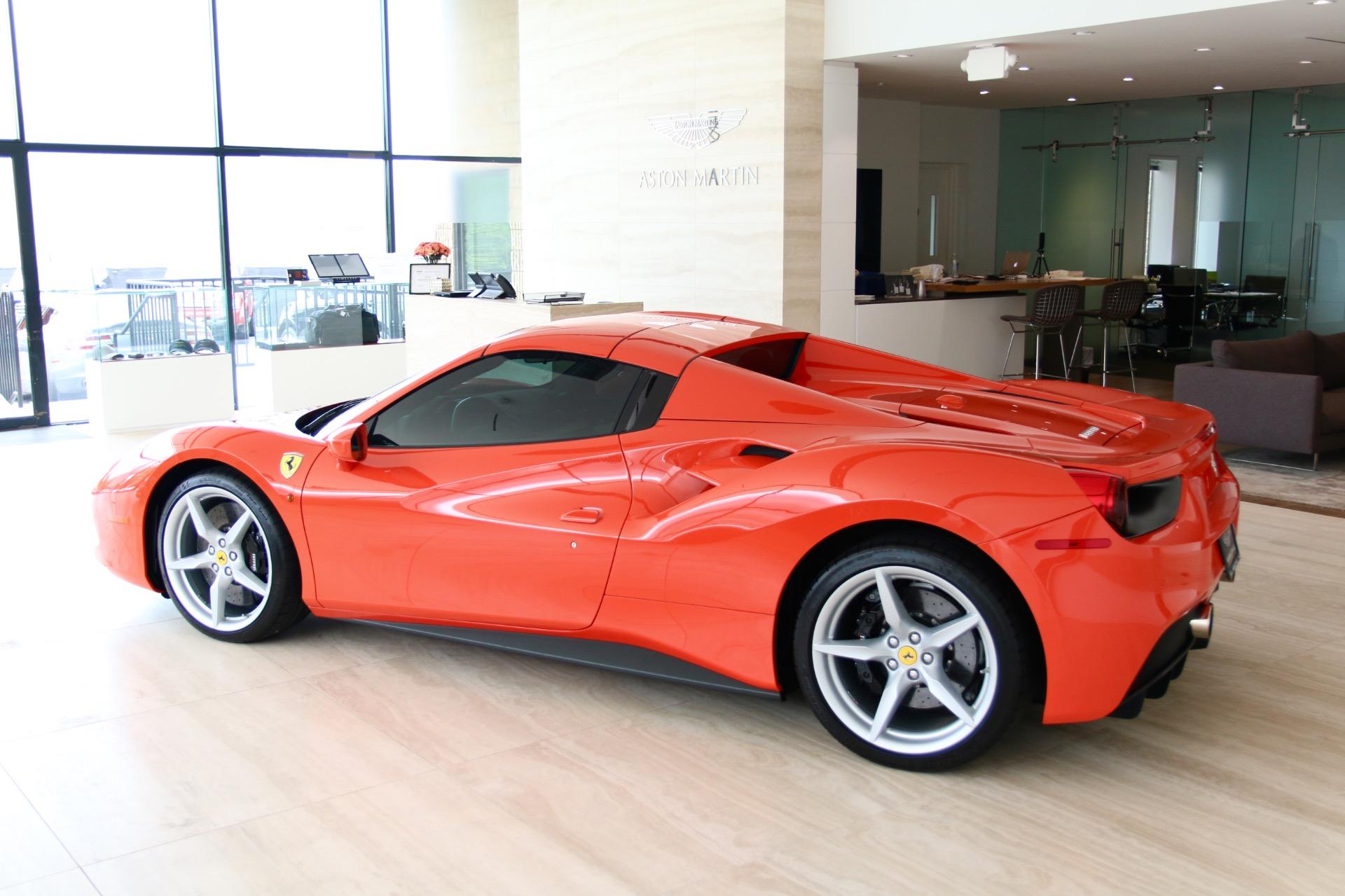 2017 Ferrari 488 Spider Stock P220646 For Sale Near Vienna Va Va Ferrari Dealer